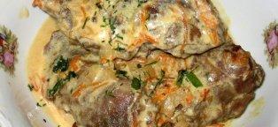 Картошку и фарш запекаем в духовке